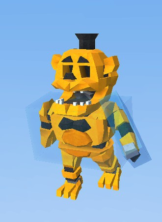 Golden Freddy FNAF - KoGaMa - The Social Builder: www.kogama.com/marketplace/avatar/a-3463001
