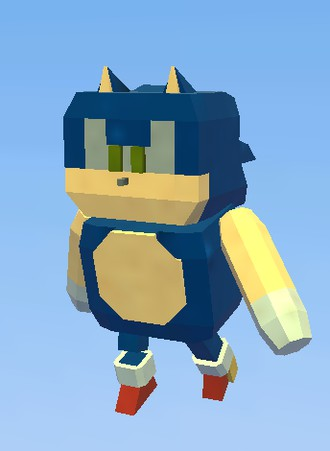 sonic kogama the social builder