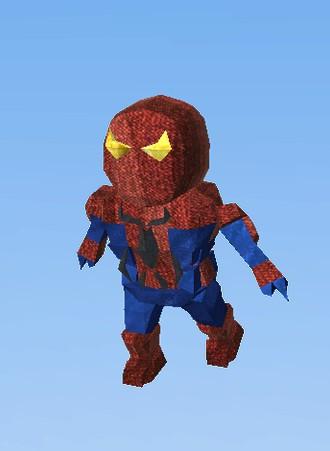 Spiderman (Hero) - KoGaMa - The Social Builder: www.kogama.com/marketplace/avatar/a-2657462
