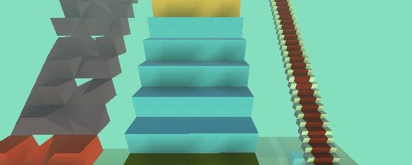 Escaleras infinitas reto imposible kogama the social for Escaleras infinitas