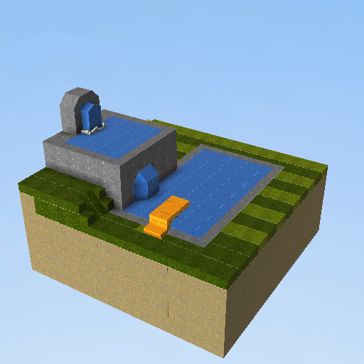 Swimming Pool Kogama Play Create And Share Multiplayer Games