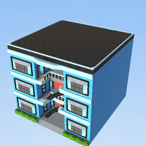 Apartment building kogama play create and share for The model apartment play
