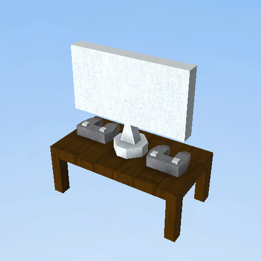 table,télé,commande de jeu  KoGaMa  Play, Create And Share Multiplayer Games -> Model Table Tele