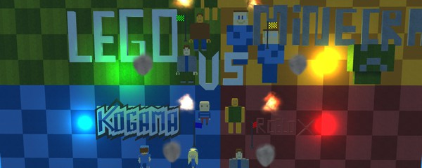 Kogama Vs Roblox Vs Minecraft Vs Lego Kogama Play Create And