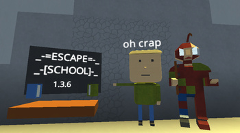 Escape School 1 3 4 Kogama Play Create And Share Multiplayer