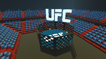Ufc Stadium Kogama Play Create And Share Multiplayer Games