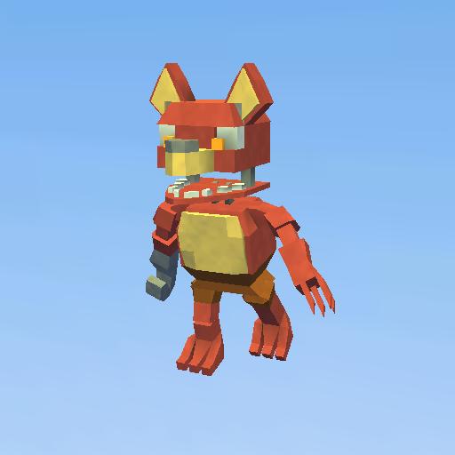 unwithered foxy - KoGaMa - Play, Create And Share