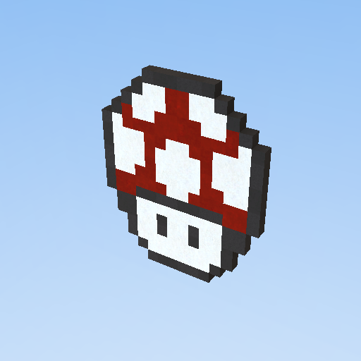 Pixel Art Hongo De Mario Rojo Kogama Play Create And
