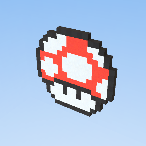 Grzybek Z Mario Pixel Art Kogama Play Create And Share