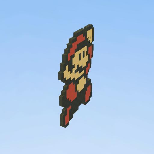 Mario Bros Pixel Art Kogama Play Create And Share